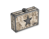 Pencil Box Desert Camo w/ Black Star - Desert Camo - Vaultz - VZ00271