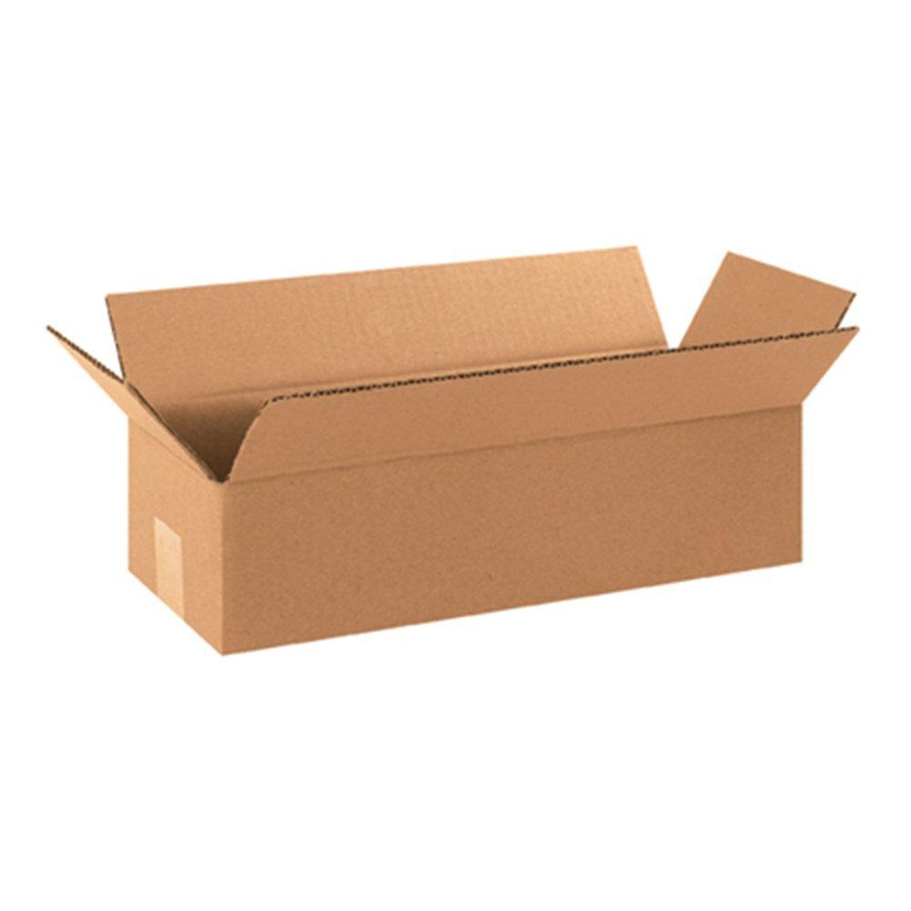 12 x 4 x 4 long corrugated boxes bundle of 25. Black Bedroom Furniture Sets. Home Design Ideas