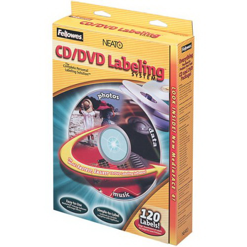 fellowes cd label template fellowes cd label kit 99940