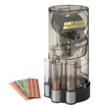 Money wrapper coin sorter - Sorting coin bank ...