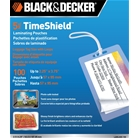 BLACK + DECKER TimeShield Thermal Laminating Pouches, Luggag...